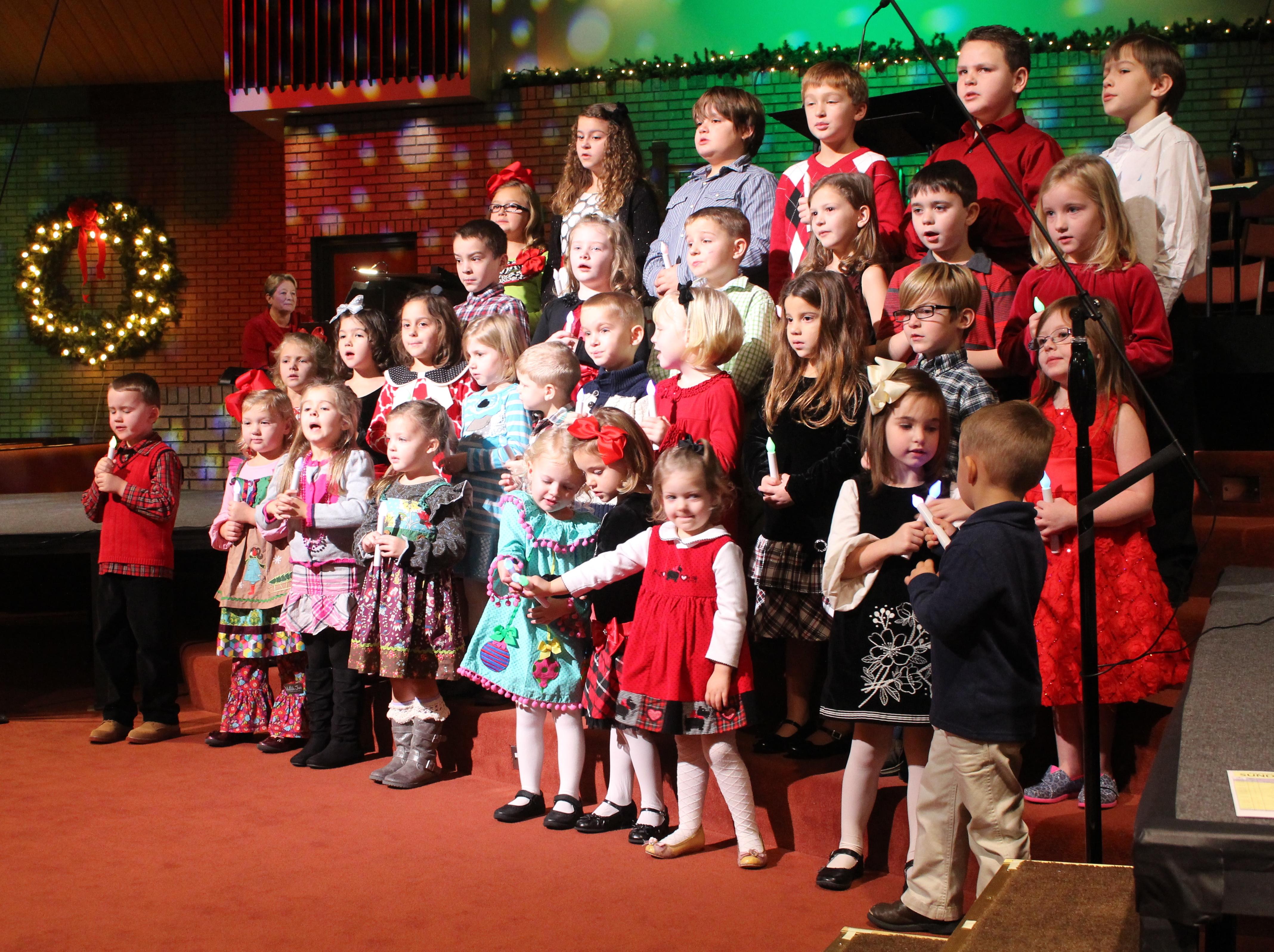 kidz choirs xmas 2014